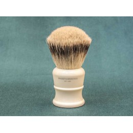 Shaving brush Maseto Shaving (pure badger / iimitation ivory) 26 mm