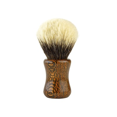 Shaving brush HLS Lacewood SHD Manchuria Finest 2-Band (F5) 24 mm