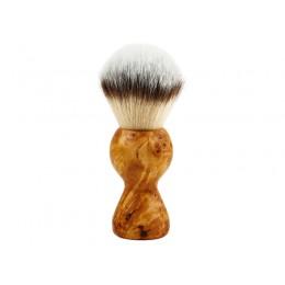 Shaving brush HLS White Synthetic (F1) 24 mm
