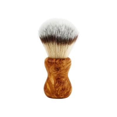 Shaving brush HLS White Synthetic (F2) 24 mm