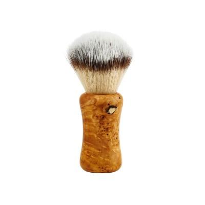Shaving brush HLS White Synthetic (F3) 24 mm