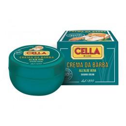Крем-мыло для бритья в чаше Cella Organic, 150мл