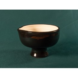 Shave bowl (black - white)