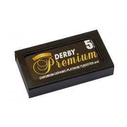 DERBY Premium Double Edge (DE) Razor Blades, 5pcs