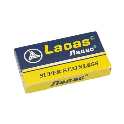 Ladas Super Stainless Double Edge (DE) Razor Blades, 5pcs