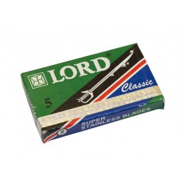 LORD Classic Double Edge (DE) Razor Blades, 5pcs