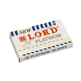 LORD Platinum Double Edge (DE) Razor Blades, 5pcs