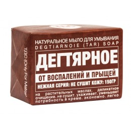 "TDS ""Tar"" natural solid soap, 150gr"