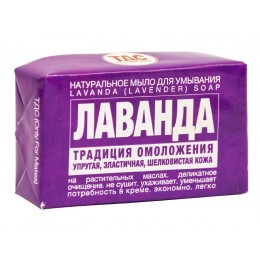"TDS ""Silk Lavender"" natural solid soap, 60gr"