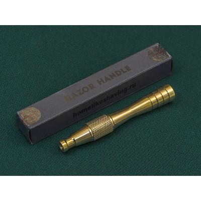 """DE razor handle """"Voevoda"""" (bronze)"""