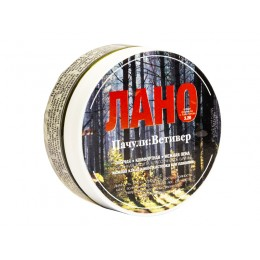 "TDS ""LANO: Patchouli:Vetiver"" shaving soap, 100ml"