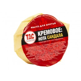 "TDS ""Cream: sandalwood note"" shaving soap, 60gr"